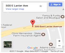 Directions to Salon!